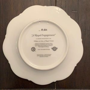 The Bradford Exchange Accents - Bradford Exchange Royal Engagement Collector Plate